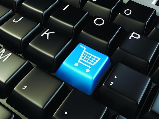 Marketing no teclado Foto Premium