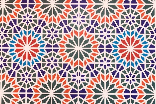 Marrocos azulejos de fundo Foto gratuita