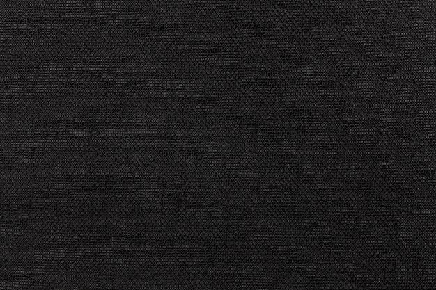 Matéria têxtil preta Foto Premium
