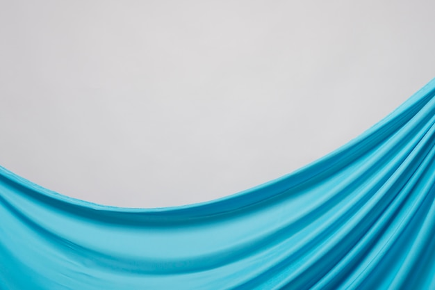 Material azul enrugado de close-up Foto gratuita