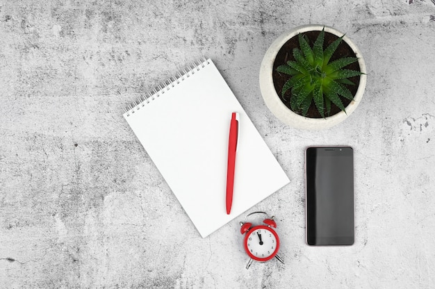Material de escritório Foto Premium
