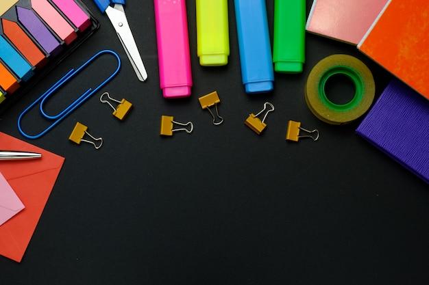 Material escolar Foto Premium