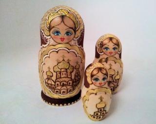 Matryoshka bonecas mãe Foto gratuita