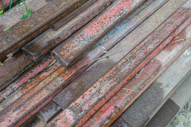 Membro de aço da oxidação para a matéria prima de aço Foto Premium