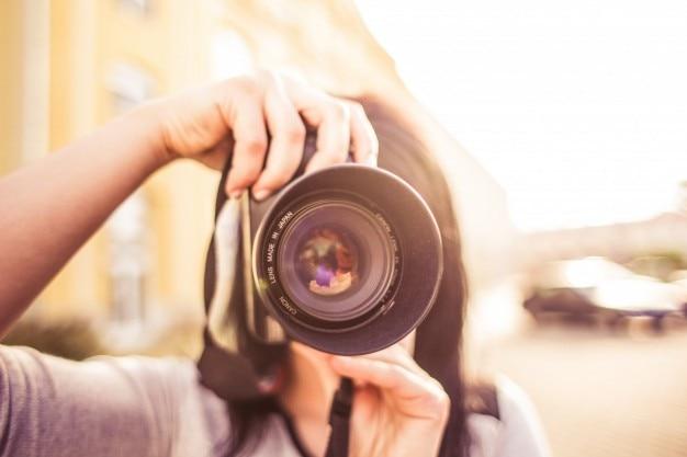 Menina de tiro Foto gratuita