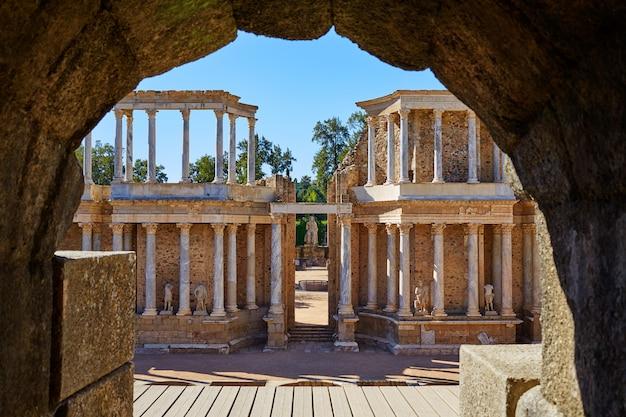 Merida em badajoz anfiteatro romano espanha Foto Premium