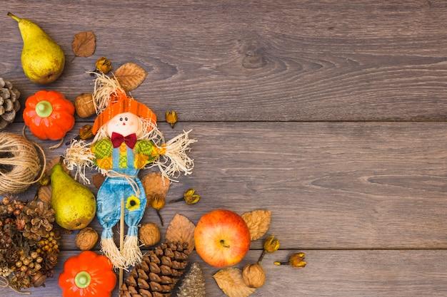Mesa coberta com legumes Foto gratuita