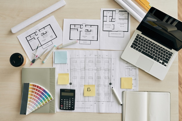 Mesa de design Foto gratuita