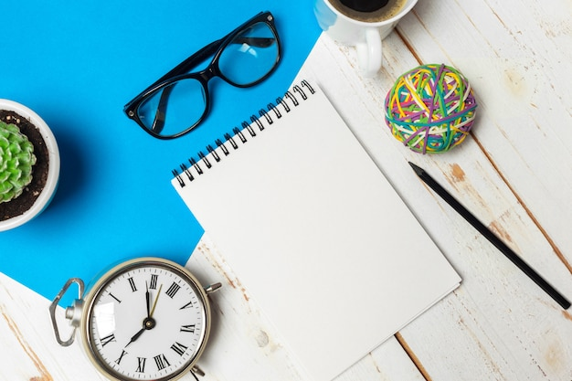 Mesa de escritório Foto Premium