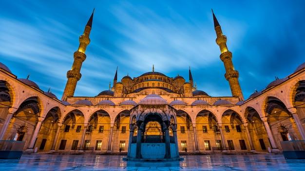 Mesquita azul em istambul, turquia Foto Premium