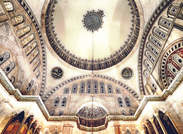 Mesquita azul Foto Premium