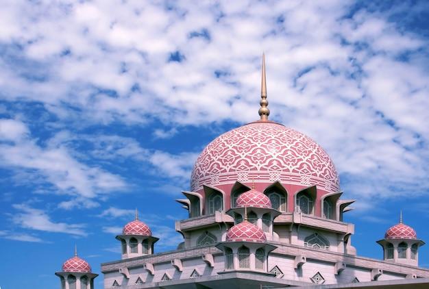 Mesquita de putra malásia Foto Premium