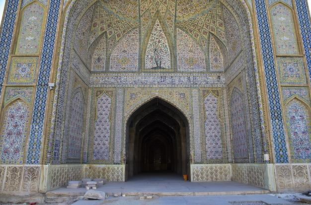 Mesquita vakil na cidade de shiraz, irã Foto Premium