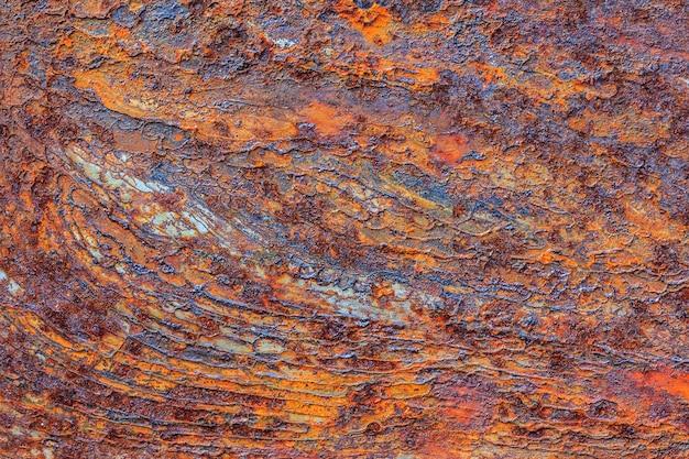 Metal laranja enferrujado Foto Premium