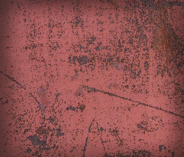 Metal pintado velho vermelho Foto Premium