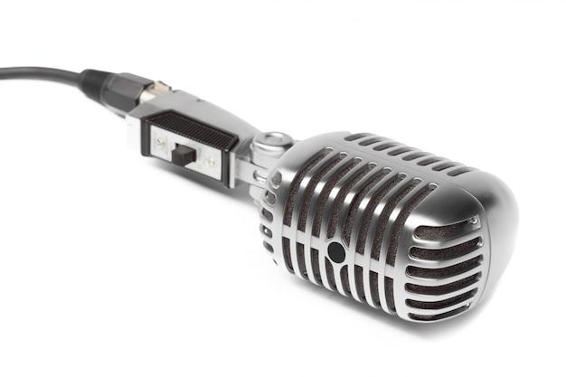Microfone retro Foto Premium