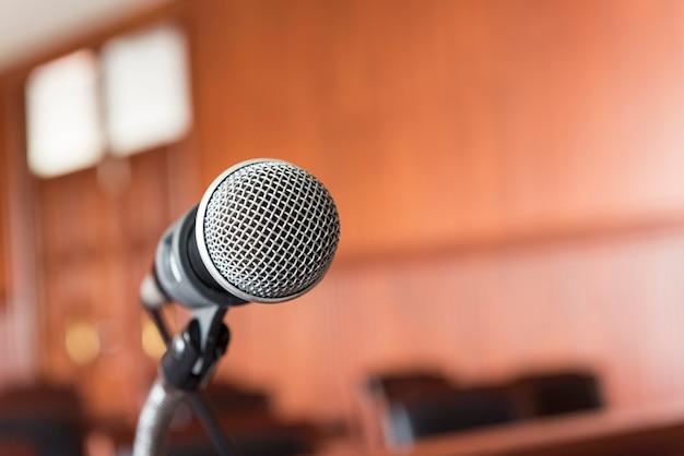 Microfone Foto Premium