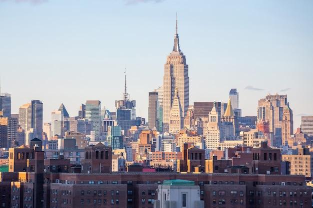 Midtown da cidade de nova york Foto Premium