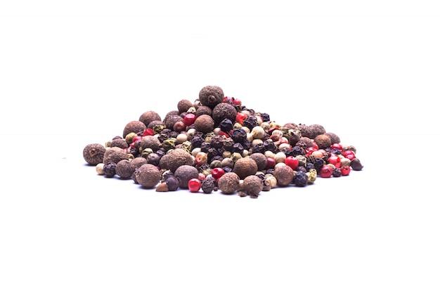 Mistura de pimentas coloridas Foto Premium