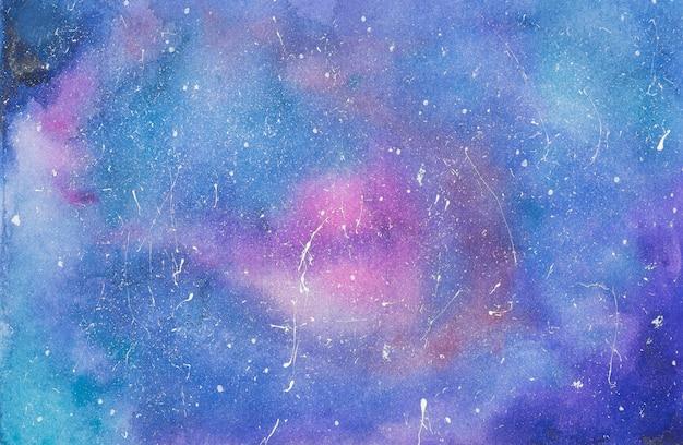Mistura rosa e azul de tintas em papel Foto gratuita