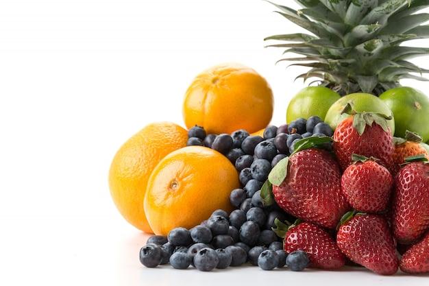 Misturar frutas Foto gratuita