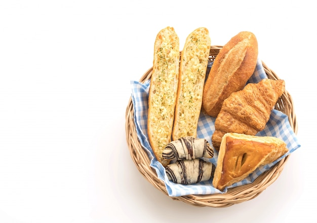 Misturar pão Foto gratuita