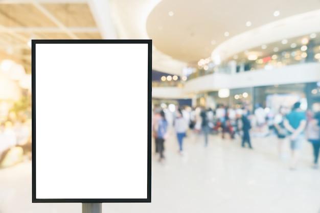 Mock em branco do quadro de cartaz vertical. Foto gratuita