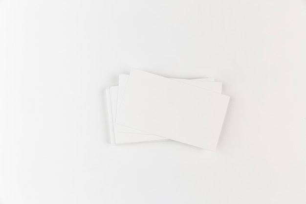 Mock up cartão em branco Foto gratuita
