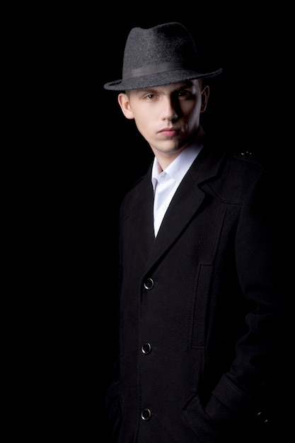 Moda homem vintage Foto gratuita
