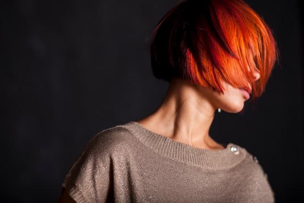 Modelo da mulher pessoa rapariga gengibre Foto gratuita