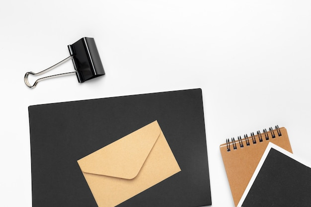 Modelo de identidade corporativa, papel timbrado em branco Foto Premium