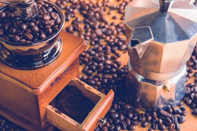 Moedor de café Foto Premium