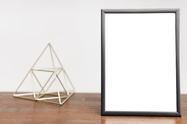 Moldura de close-up com decoração moderna Foto gratuita