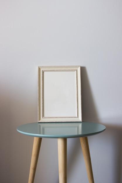 Moldura de madeira de decoração para você cartaz ou fotografia Foto gratuita