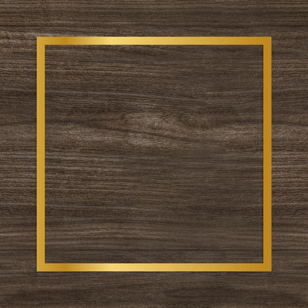 Moldura de madeira texturizada Foto gratuita