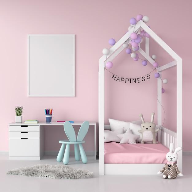 Molduras para fotos em branco na parede Foto Premium