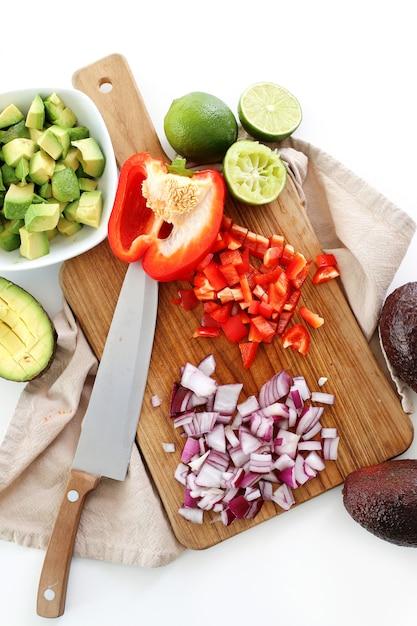 Molho de guacamole Foto gratuita