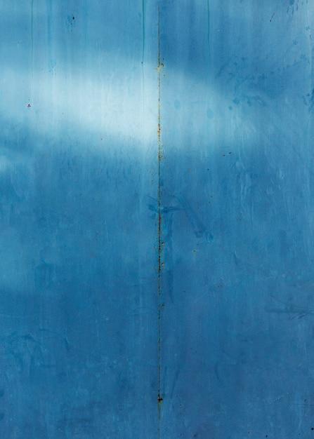 Monocromático azul pintado textura de madeira antiga Foto gratuita
