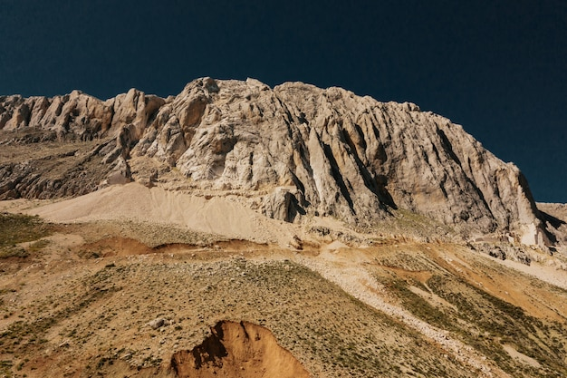Montanha caminho estrada panorâmica paisagem Foto gratuita