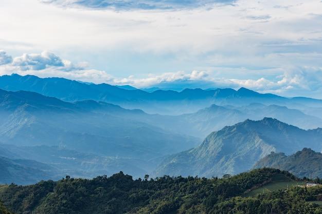 Montanha natural tai wan Foto Premium