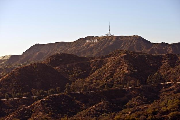 Montanhas de hollywood Foto gratuita