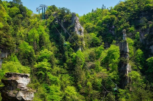 Montanhas zhangjiajie, china Foto Premium