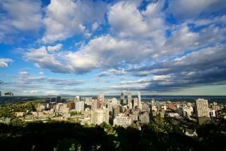 Montreal paisagem urbana Foto gratuita