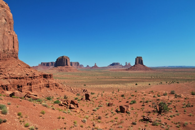 Monument valley em utah e arizona Foto Premium