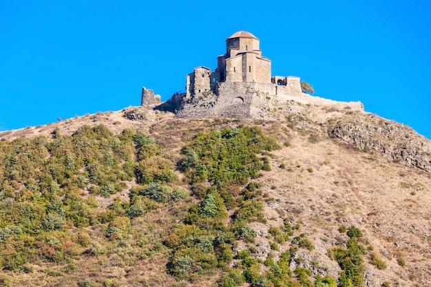 Mosteiro de jvari, mtskheta Foto Premium