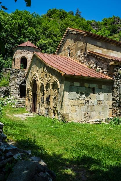 Mosteiro de rkoni em kartli Foto Premium