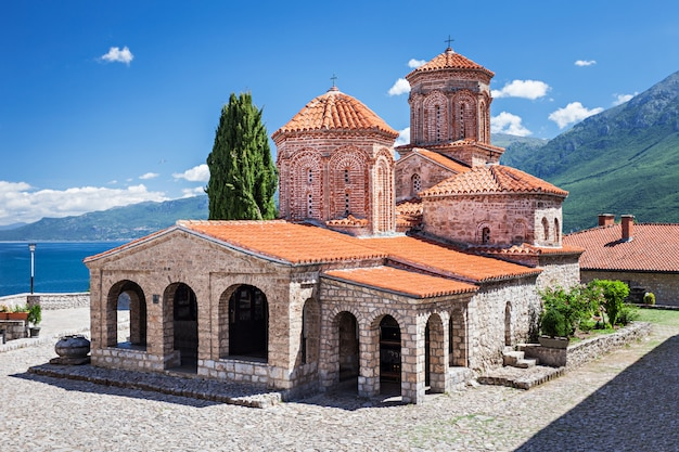Mosteiro de saint naum Foto Premium