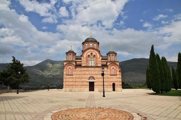 Mosteiro de trebinje na bósnia e herzegovina Foto Premium