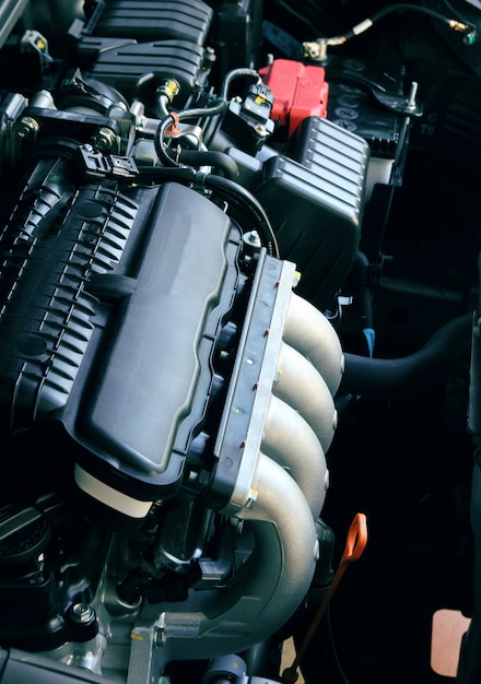Motor de carro Foto gratuita