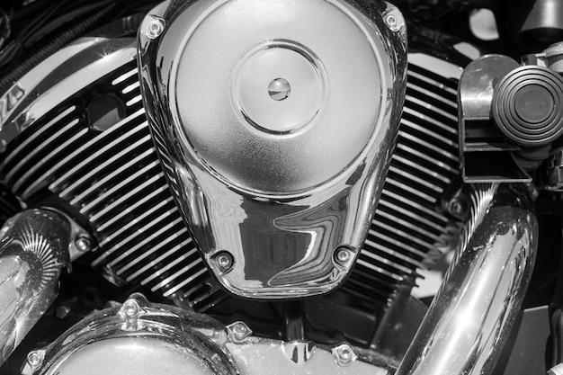 Motor de motocicleta Foto Premium